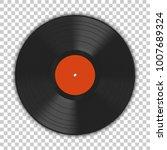 realistic gramophone vinyl lp... | Shutterstock .eps vector #1007689324