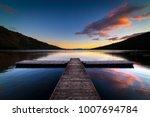 sunrise at fallen leaf lake. ...   Shutterstock . vector #1007694784