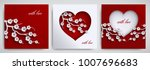 valentine's day  mother's day... | Shutterstock .eps vector #1007696683