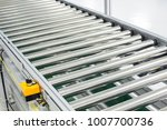 the conveyor chain  and... | Shutterstock . vector #1007700736