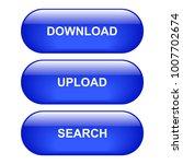 download button. upload button. ... | Shutterstock .eps vector #1007702674