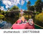 christchurch  new zealand  ...   Shutterstock . vector #1007703868