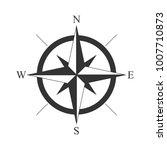 retro style compass icon  wind...   Shutterstock .eps vector #1007710873
