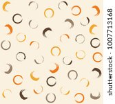 colorful circle art paint brush ... | Shutterstock .eps vector #1007713168