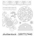 asian traditional design  print ...   Shutterstock .eps vector #1007717440