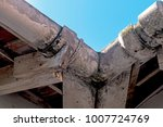 close up of neglected vintage... | Shutterstock . vector #1007724769