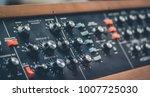marine boat panel   oscillator... | Shutterstock . vector #1007725030