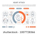 line illustration of heart... | Shutterstock .eps vector #1007728366