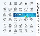 science  scientific activity... | Shutterstock .eps vector #1007730856