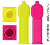 condom set in flat vector style | Shutterstock .eps vector #1007744140