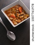 Small photo of chunky minestrone soup