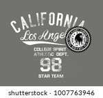 california los angeles and new... | Shutterstock .eps vector #1007763946