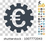 euro gear icon with bonus...