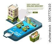 concept illustration of online... | Shutterstock .eps vector #1007772610