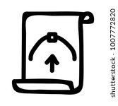bezier  design document  | Shutterstock .eps vector #1007772820