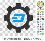 dash options gear icon with...