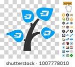 dash tree icon with bonus...