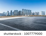 panoramic skyline and buildings ... | Shutterstock . vector #1007779000