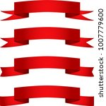 red ribbons for different... | Shutterstock .eps vector #1007779600