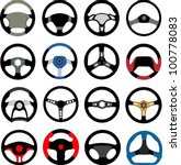steering wheel   Shutterstock .eps vector #100778083
