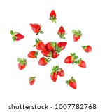 fresh and ripe strawberries... | Shutterstock . vector #1007782768