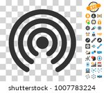 airdrop source pictograph with... | Shutterstock .eps vector #1007783224