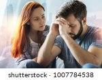 feeling worried. worried caring ... | Shutterstock . vector #1007784538