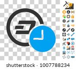 dash credit time icon with...