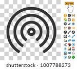 airdrop center pictograph with...   Shutterstock .eps vector #1007788273