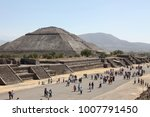 The Avenue Of The Dead. Aztec...