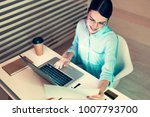 immersed into work. the top...   Shutterstock . vector #1007793700