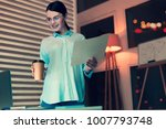 professional analyst. charming...   Shutterstock . vector #1007793748