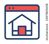 homepage internet browser    Shutterstock .eps vector #1007805658