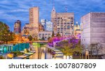 indianapolis  indiana  usa... | Shutterstock . vector #1007807809