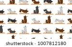 seamless pattern scottish... | Shutterstock . vector #1007812180