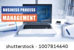 business process management... | Shutterstock . vector #1007814640