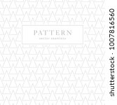 simple seamless pattern with... | Shutterstock .eps vector #1007816560