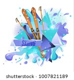 abstract colored backgrounds ...   Shutterstock .eps vector #1007821189