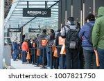 seattle  washington usa  ... | Shutterstock . vector #1007821750