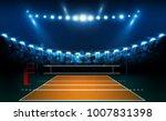 volleyball court arena field... | Shutterstock .eps vector #1007831398
