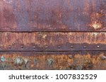 Rust Surface At Old Train...