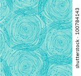 Turquoise Spiral Pattern