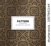 ethnic floral seamless pattern... | Shutterstock .eps vector #1007842144