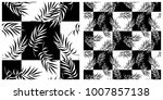 seamless pattern in single... | Shutterstock .eps vector #1007857138