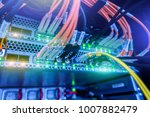 fiber optical connector... | Shutterstock . vector #1007882479