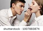 beauty concept  make up artist... | Shutterstock . vector #1007883874
