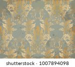 Vector Luxury Baroque Pattern...