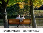 autumn leisure   walk in the... | Shutterstock . vector #1007894869