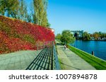 autumn leisure   walk in the... | Shutterstock . vector #1007894878