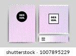 light pink  blue vector banner...